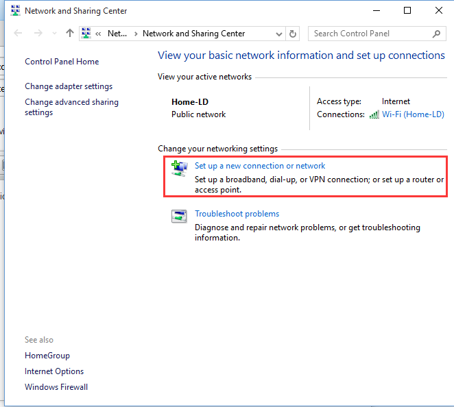 How to connect to remote access VPN from Win10 - Database Mart
